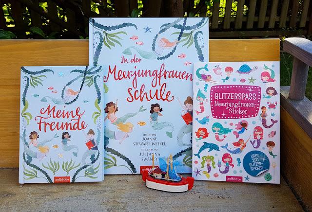 Zauberhafte Meerjungfrauen- und Meer-Bücher für Vorschul- und Schulkinder. Auf Küstenkidsunterwegs stelle ich Euch spannende Kinderbücher mit Geschichten von Meerjungfrauen sowie Bilder- und Sachbücher zu anderen Meeres- und Umwelt-Themen vor.