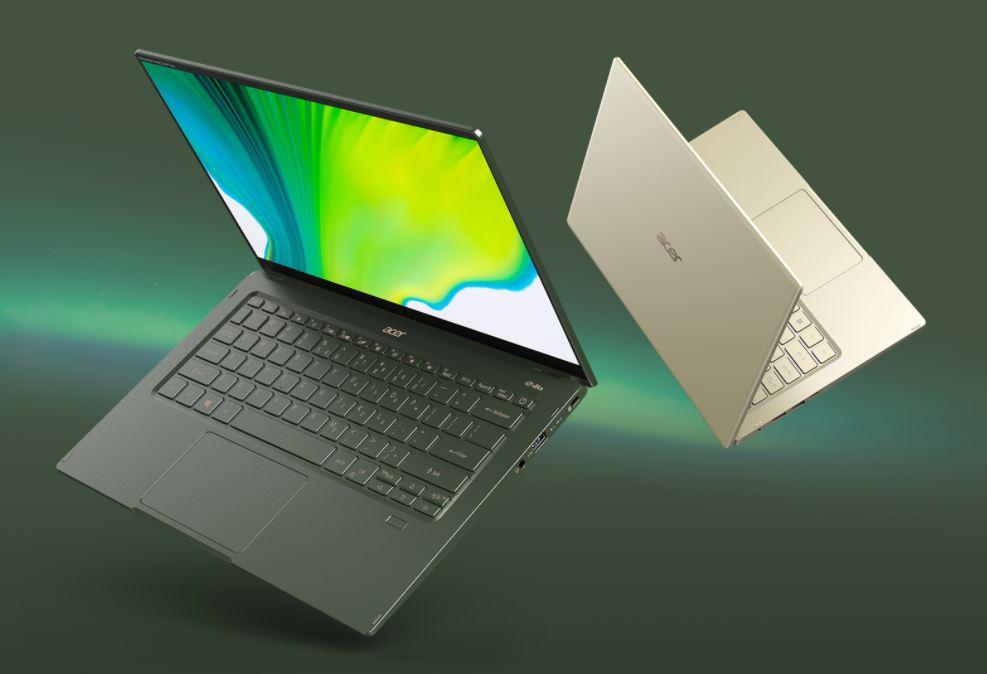 Acer Swift 5 SF514-55TA 797T, Laptop Premium dengan Casing Berlapis Antimicrobial