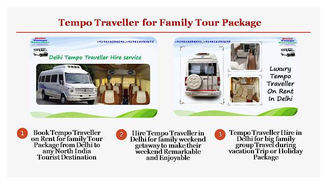 Cheapest Tempo Traveller Rental price for booking in Delhi