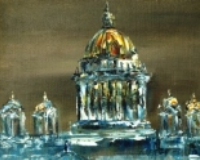 original oil paintings on canvas by theme City