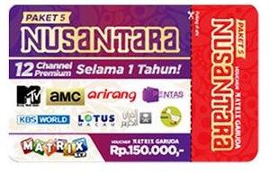 Paket Nusantara Gratis 1 Tahun