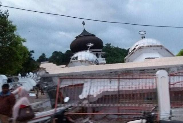 Innalillahi..! Kerusakan Parah Akibat Gempa 6,5 SR Terjadi di Pidie Jaya