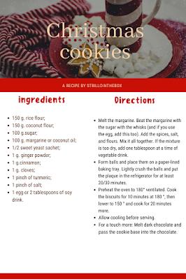 cookies coconus vegan recipe