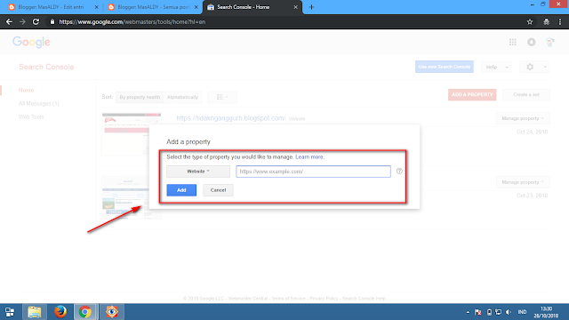 cara verifikasi website di google webmaster