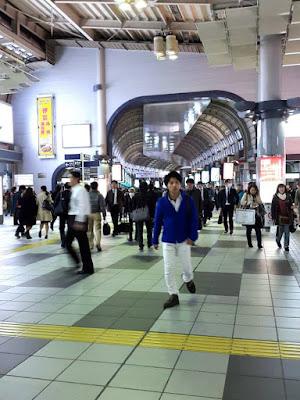 Shinagawa Station in Japan