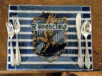 Ravenclaw House Logo Place Mat