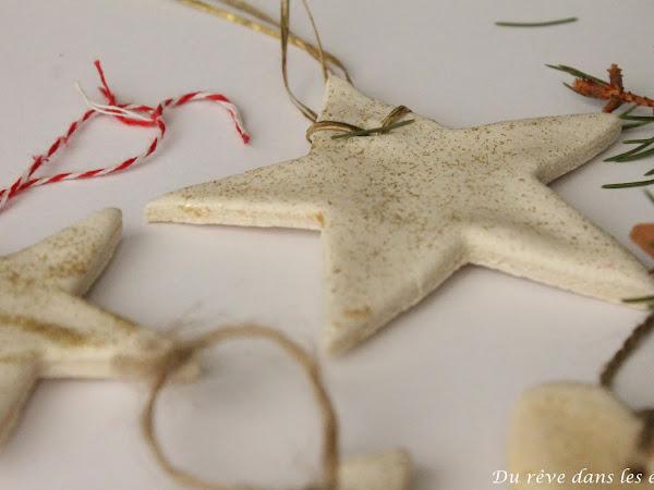 Noël 2019, ornements en pâte à sel - suite