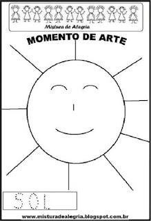 Projeto Pátria, desenho de sol