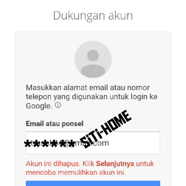 Cara Mengembalikan Akun Gmail yang kehapus