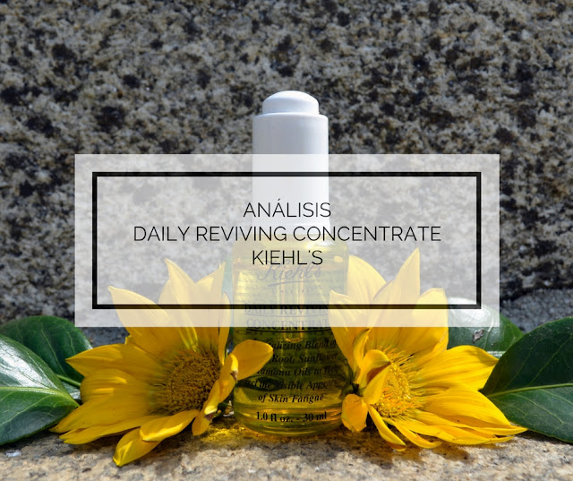 ANÁLISIS | DAILY REVIVING CONCENTRATE DE KIEHL'S