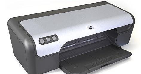 HP Deskjet D Printer series Driver and Software Download
