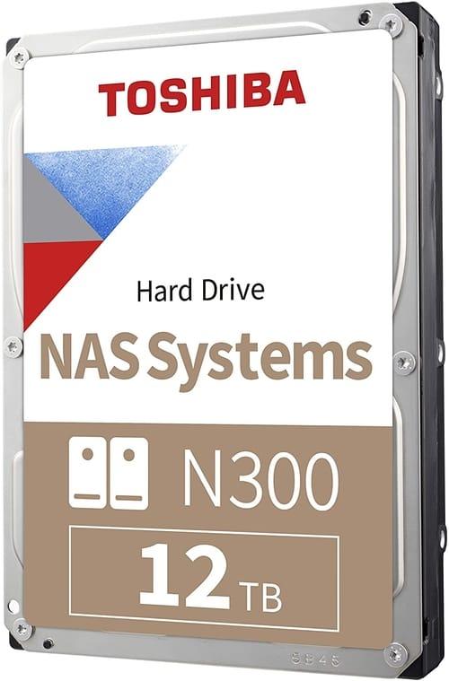 Toshiba N300 12TB NAS 3.5-inch Internal Hard Drive