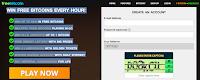 Gagner  bitcoins gratuits! Tentez votre chance toutes les heures en jouant un Jeu de freebitcoin