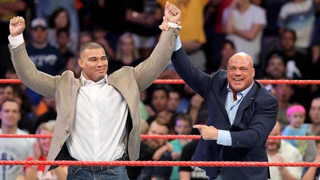 """Jason Jordan deveria ter """"encerrado"""" a carreira de Kurt Angle na WWE"""
