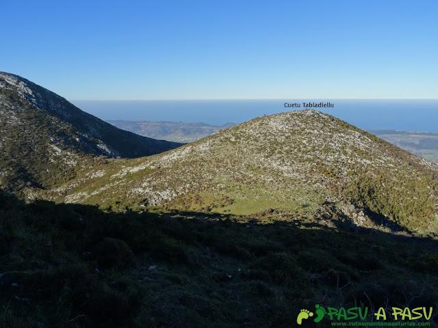 Camino al Cuetu Tabladiellu