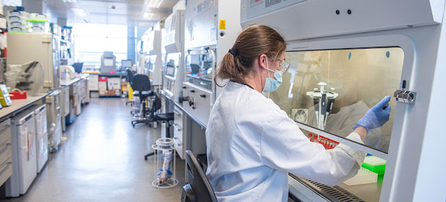 La vacuna contra el COVID-19 que desarrolla la Universidad de Oxford ha sido aprobada para su uso en el Reino Unido.Universidad de Oxford/John Cairns