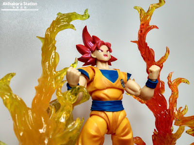 S.H.Figuarts Super Saiyan God Son Goku de Dragon Ball Super - Tamashii Nations