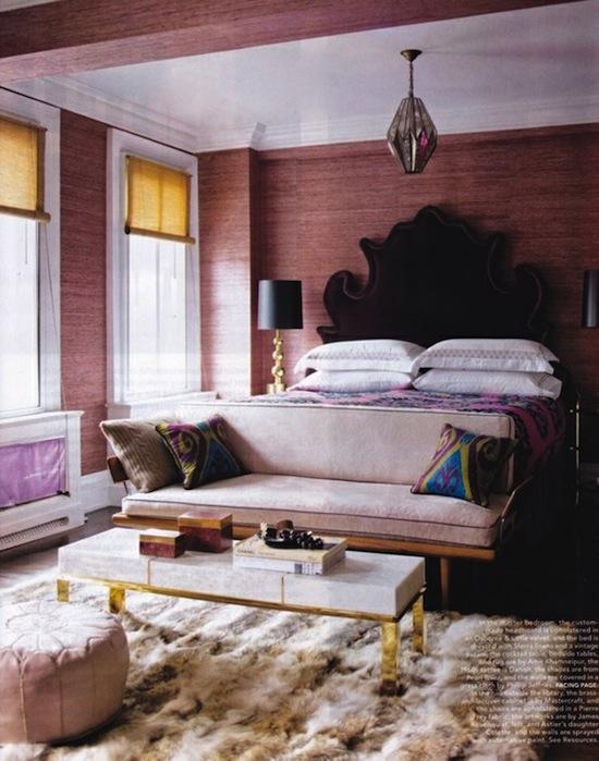 40 fabulous purple bedrooms. Black Bedroom Furniture Sets. Home Design Ideas