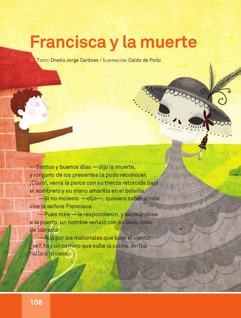 Francisca y la muerte espa ol lecturas 3ro apoyo primaria for Espanol lecturas cuarto grado 1993