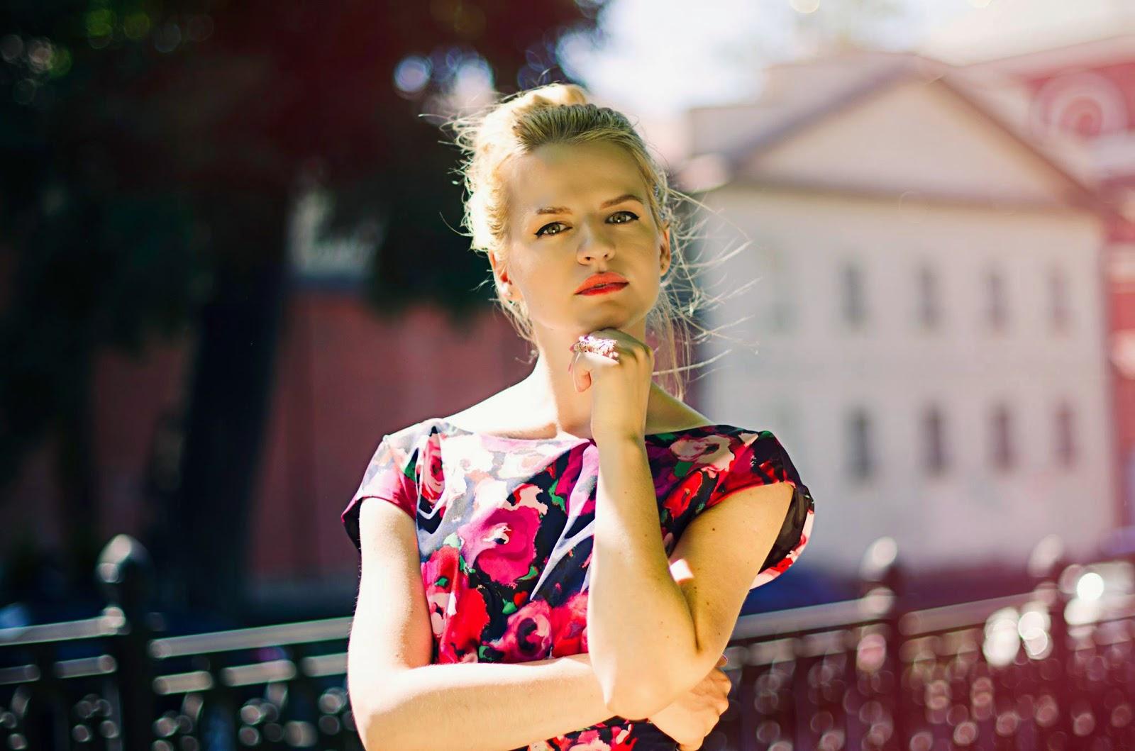 IrinaPavlova, Блоггер,летние луки,лучшие луки,платье в цветок