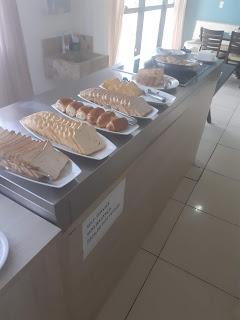 Hotel Falcão Arapiraca café da manhã