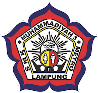 Logo SMK Muhammadiyah 3 Metro