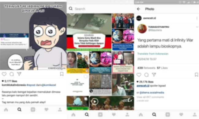 Kumpulan Contoh Caption Instagram Lucu Dan Kekinian