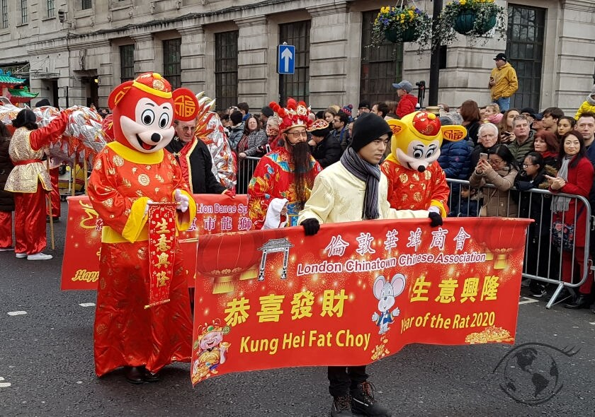 Chinese New Year - parada na Chiński Nowy Rok