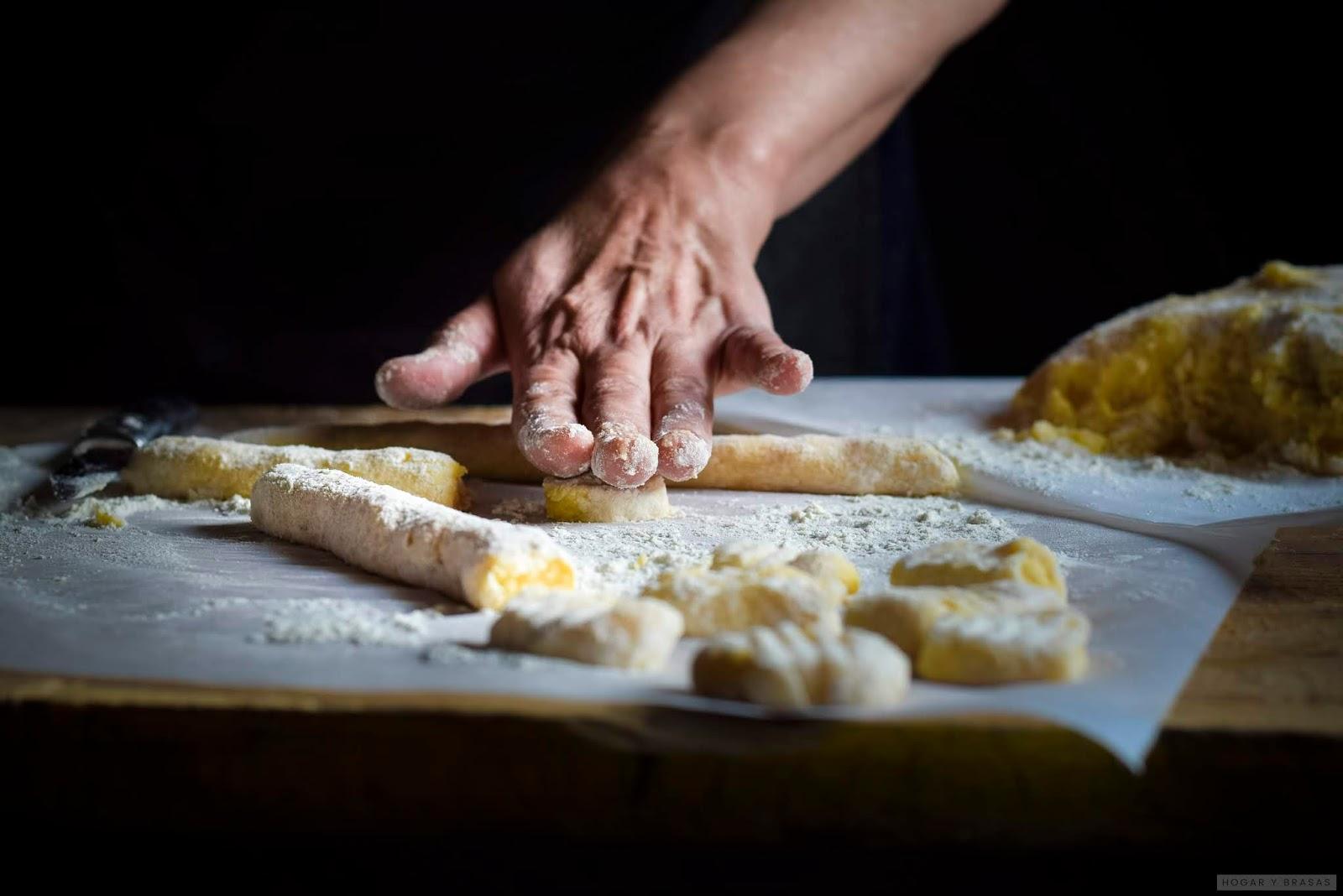 Como preparar Ñoquis de patata