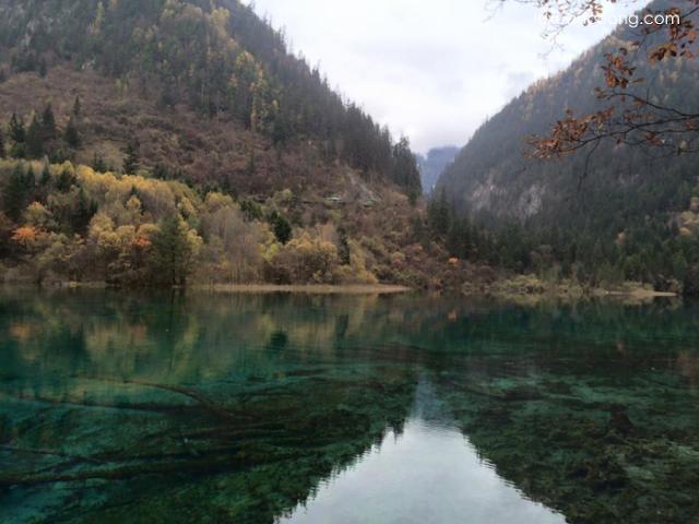 Những hồ nước nhìn thấy đáy là đặc trưng ở Cửu Trại Câu