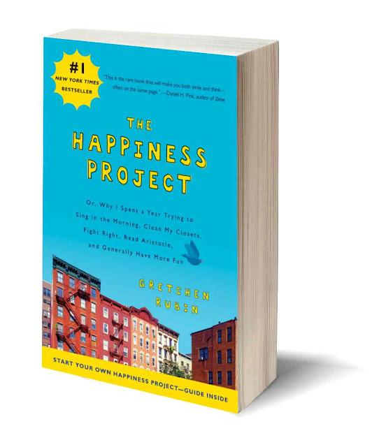 Buku the happiness project karya Gretchen Rubin