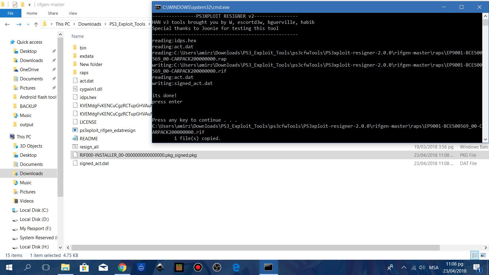 amirzaim@geek-droid:~$: [PS3Xploit Tutorial] How to Install