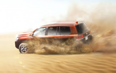 New Toyota Land Cruiser 2016 off road image