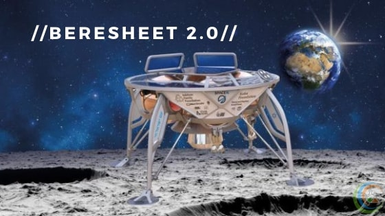 Moon Lander Beresheet 2.0