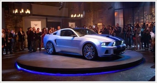 Need For Speed Movie - Shelby Mustang GT500KR