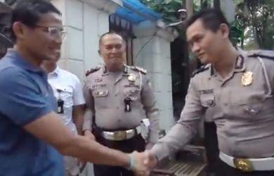 Kejutan, Rumah Sandiaga Uno Didatangi Belasan Polisi