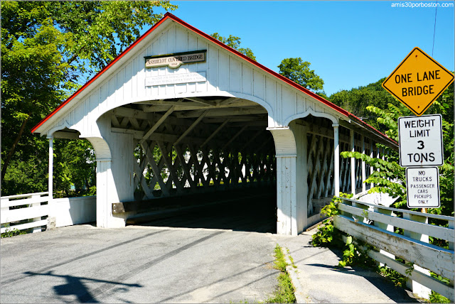 Puente Cubierto Ashuelot Covered Bridge en New Hampshire