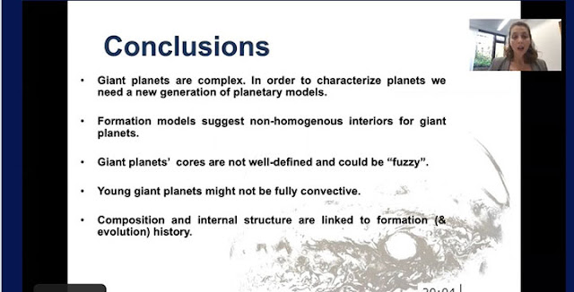 Link between planet formation and evolutionary history (Source: Ravit Helled, U of Zurich.)