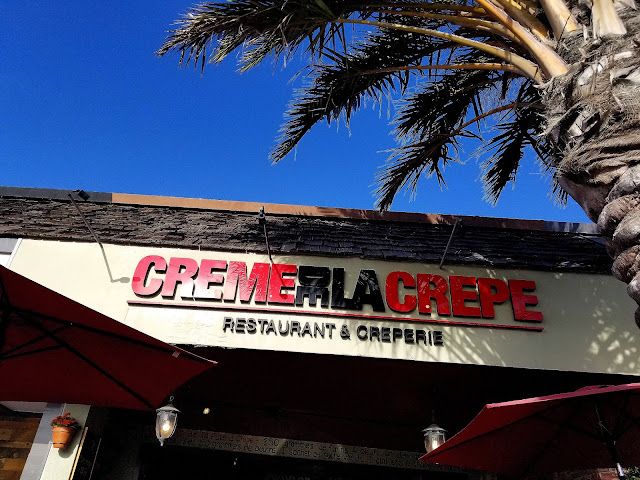 Creme De La Crepe in Redondo Beach, California restaurant French food Los Angeles visit los angeles touring los angeles