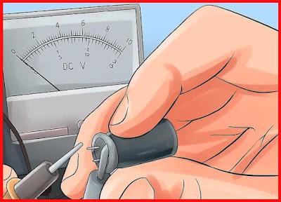 Méthode Tester un condensateur par  voltmètre