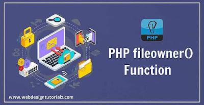 PHP fileowner() Function