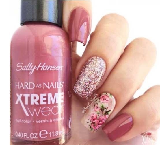 fall fingernails design