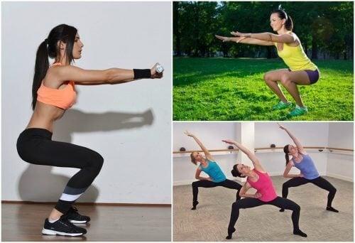 Types of squats