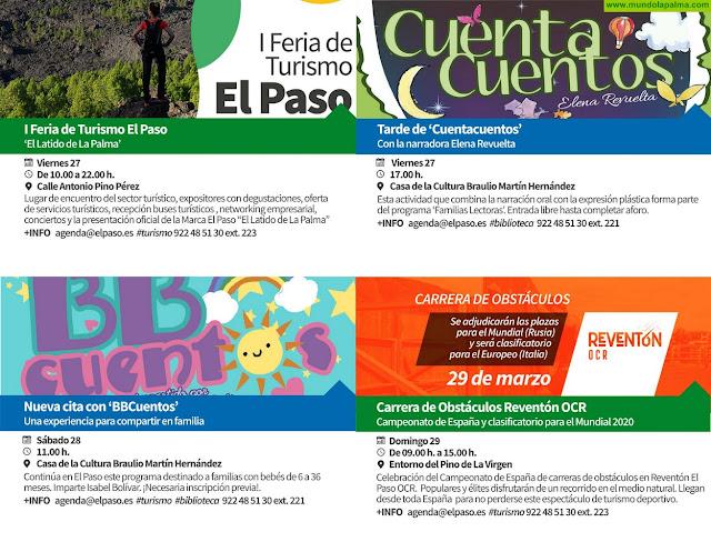 Agenda Municipal para el mes de marzo 2020 de El Paso