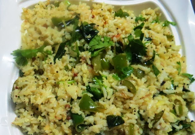 Green Apple Chitranna Recipe