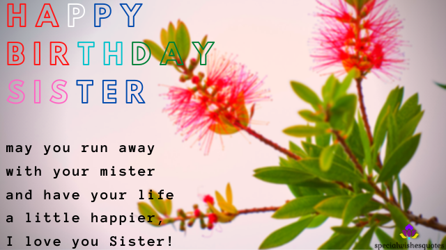 Happy Birth Day Sister Quotes Hd Images
