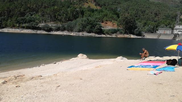 Praia Fluvial Gerês Albufeira