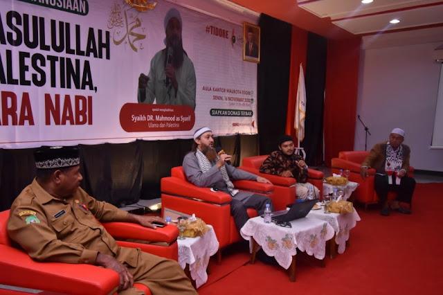 Jamaluddin Badar Sambut Kedatangan Ulama Syekh Mahmoud Al Shareef di Tidore.lelemuku.com.jpg
