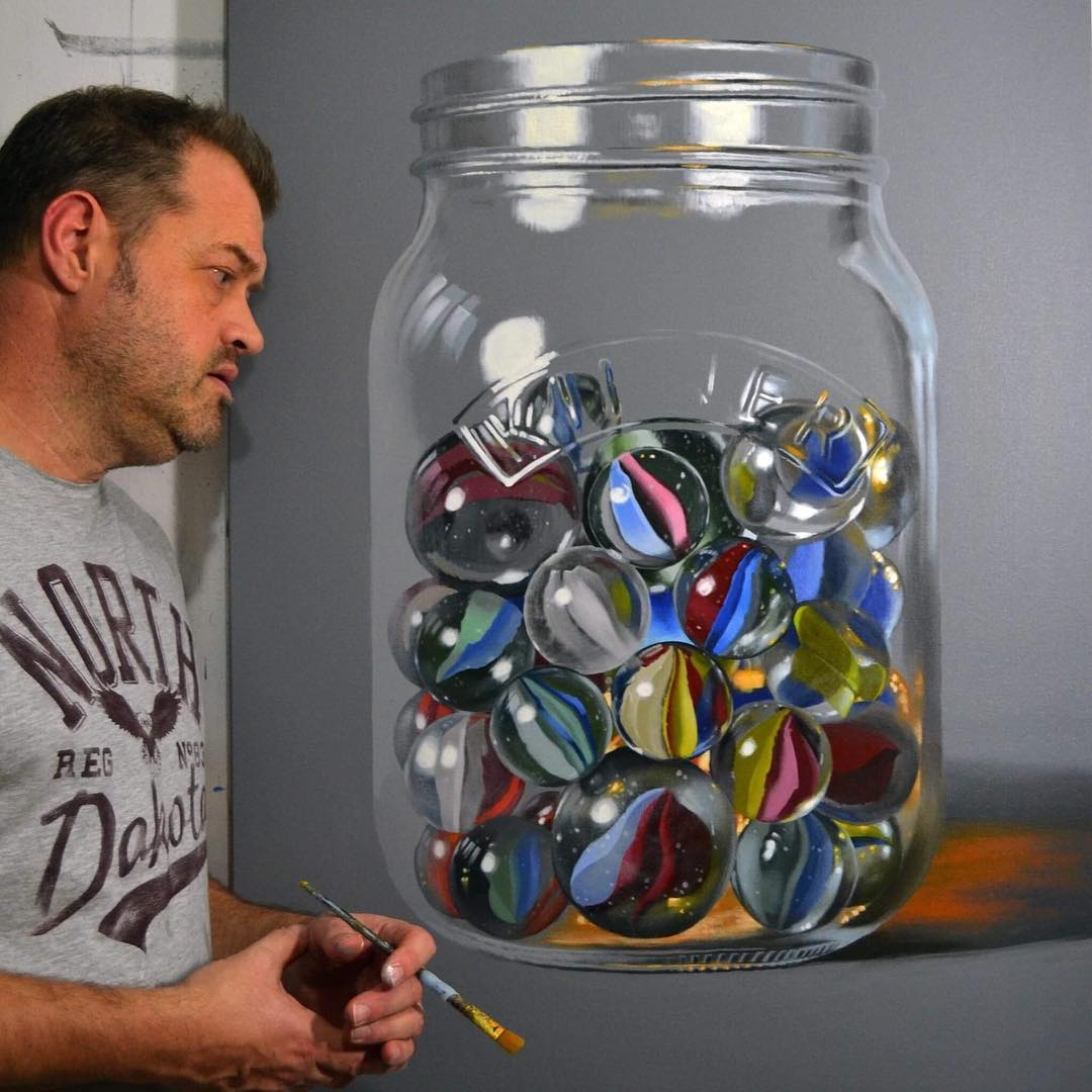 10-Marbles-Peter-Slade-Hyper-Realistic-Paintings-Acrylic-on-Canvas-www-designstack-co