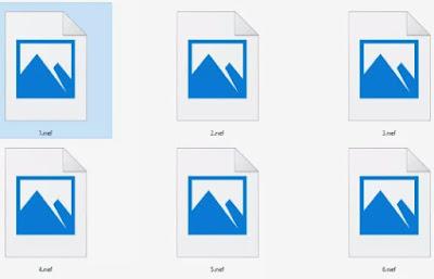 Cara Membuka File NEF